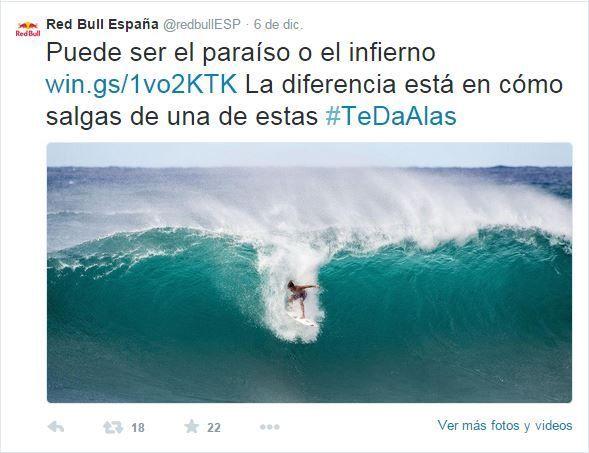 RedBull #TeDaAlas