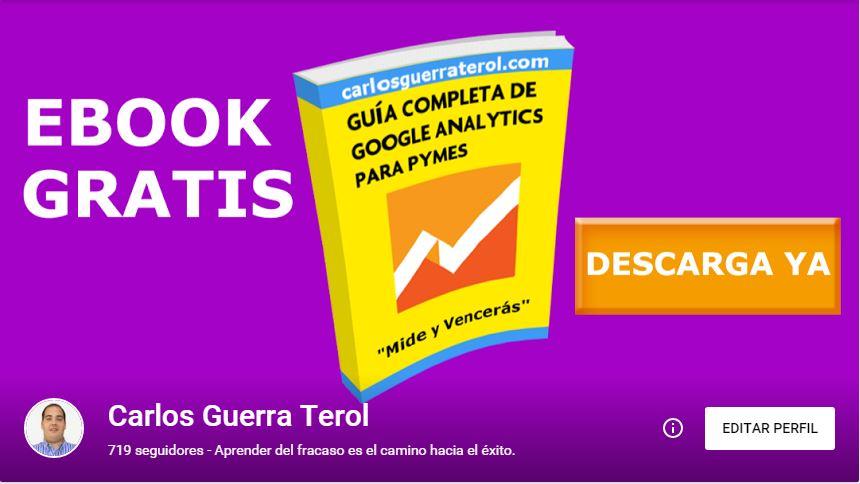 Portada Google Plus Ebook