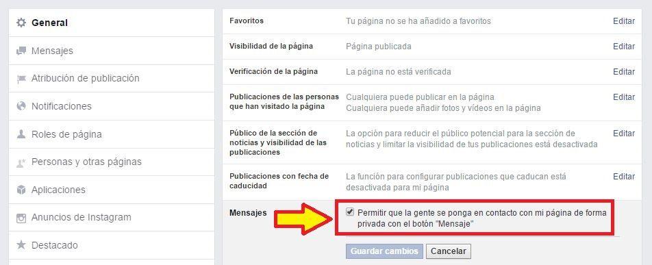 activar-mensajes-facebook-messenger