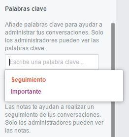 palabras-clave-facebook-messenger